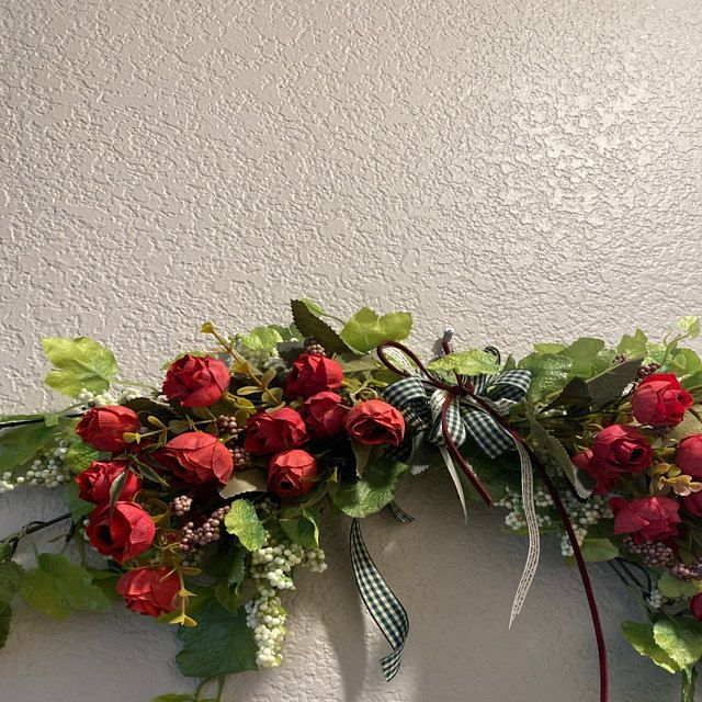 Photo of Artificial Magnolia Wreaths / Front Door Decor / Flower Wreath / Wedding Wreath / Home Decor …