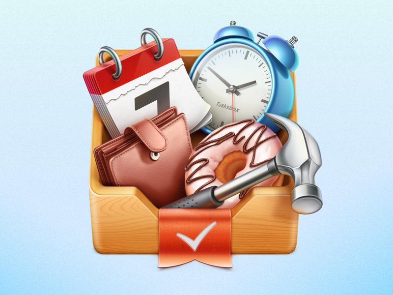 Tasksbox Mac OS icon Iconos