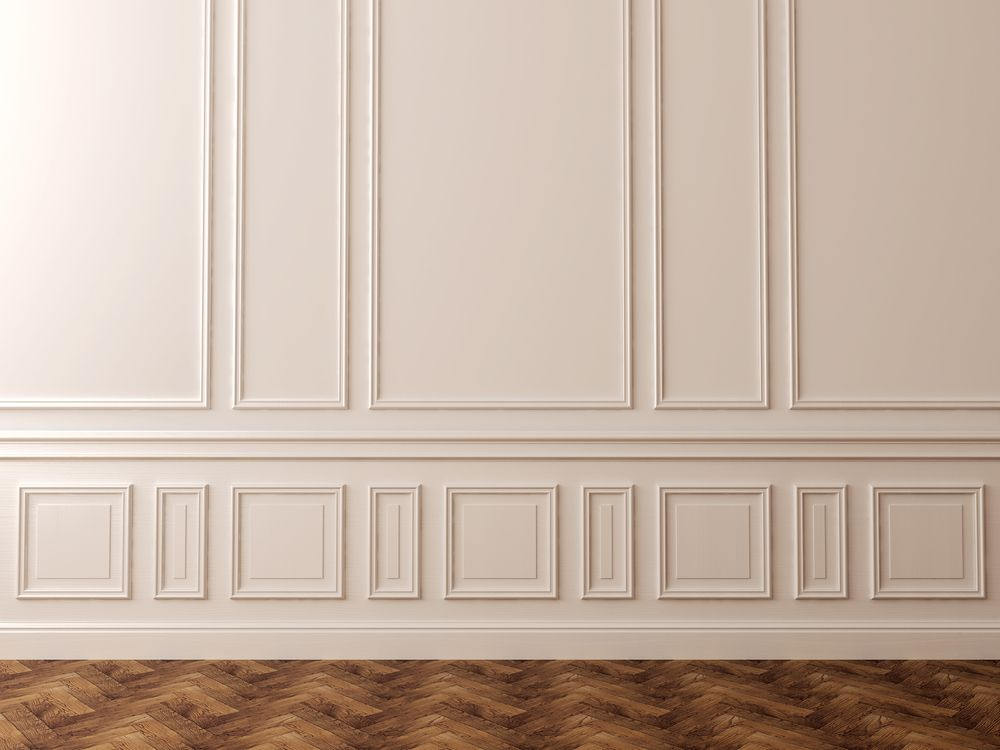 Elevate A Space With Magnificent Moulding Amp Wood Wall Art