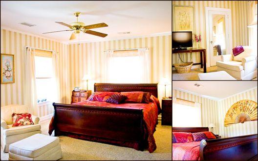 Inn on Crescent Lake - Excelsior Springs, MO (The Stripe Room)