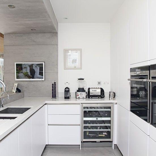Gray Kitchen White Appliances: Kitchen 2016, Timber Kitchen, Compact Kitchen