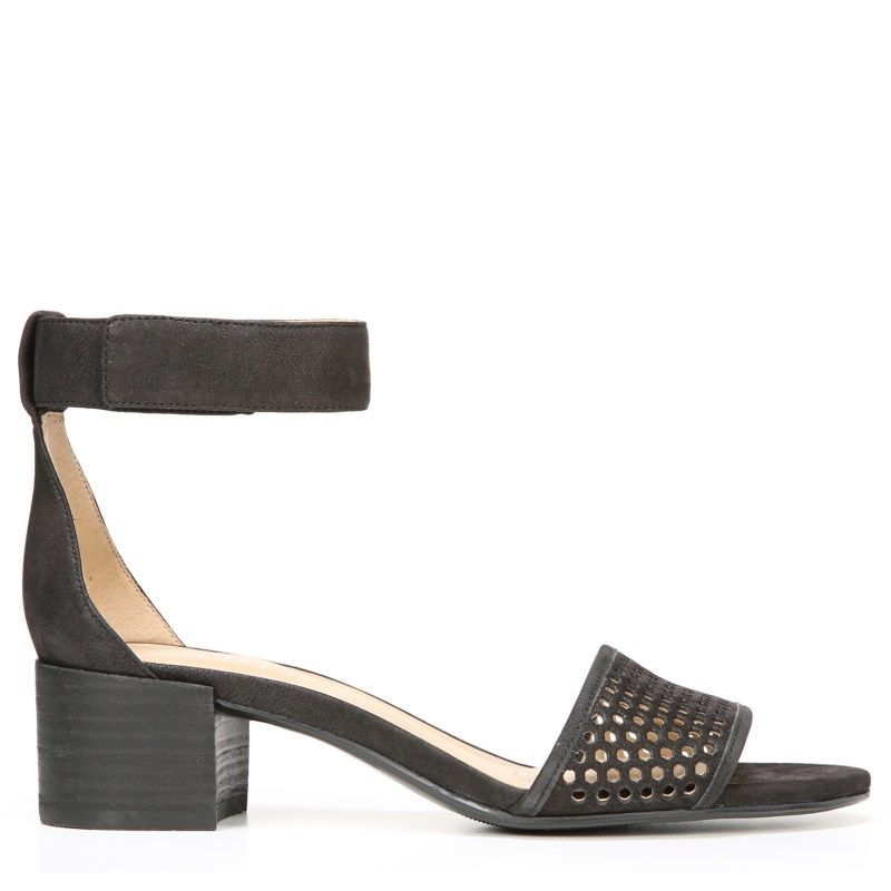 d14177a9eaa1 Naturalizer Women s Faith Narrow Medium Wide Ankle Strap Sandals (Black  Leather)