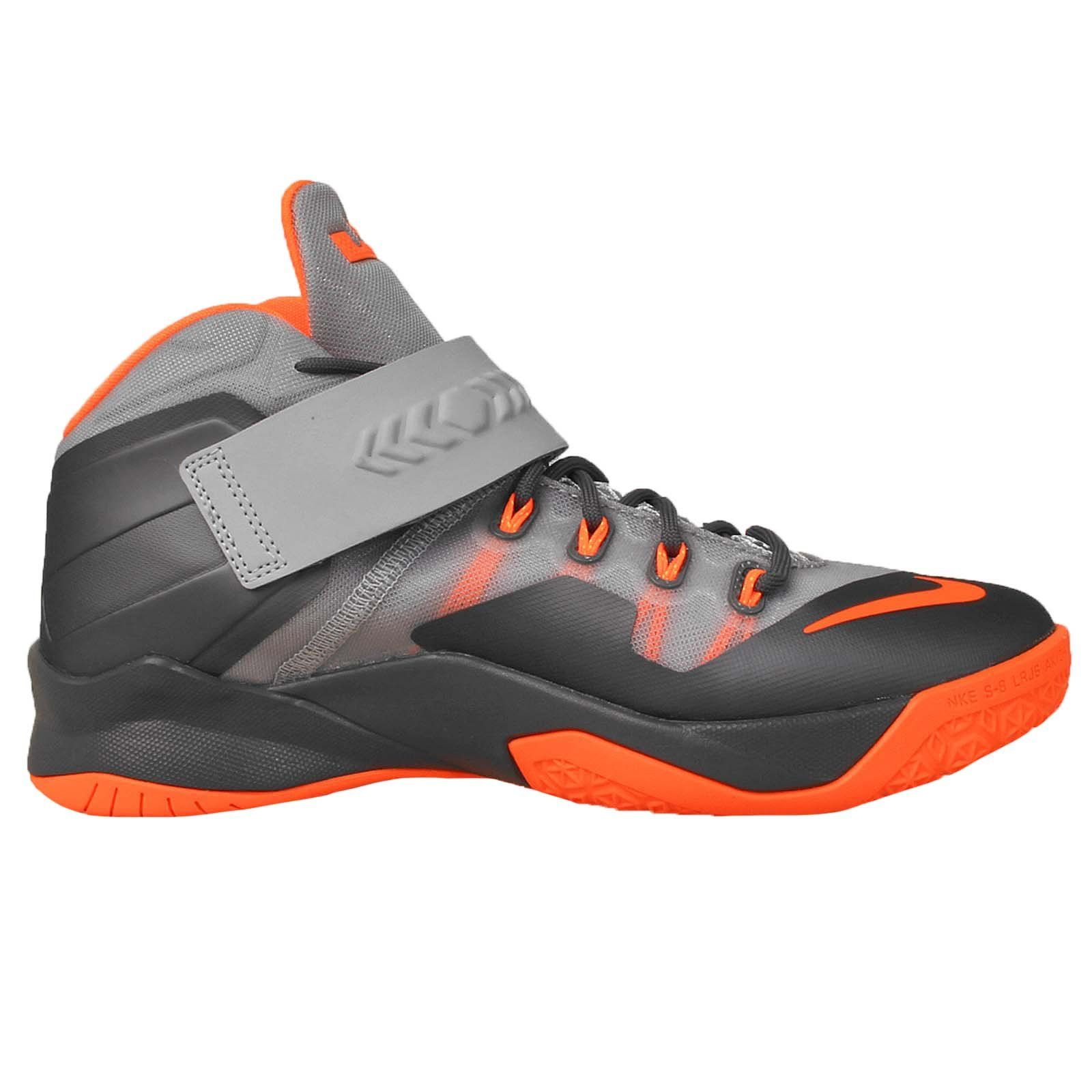 Nike Soldier VIII GS 8 Lebron James Youth Basketball Shoes 653645-010 (4.5Y