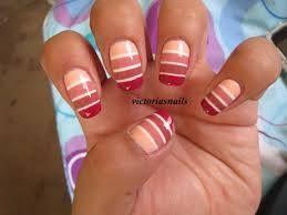 ombre stripes