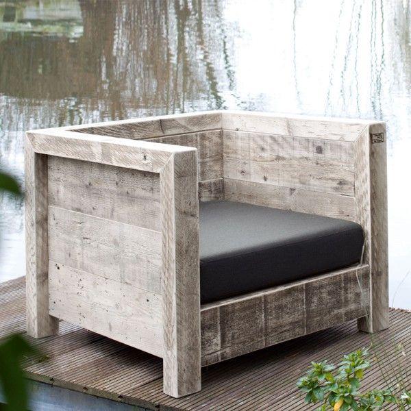 Sessel Decoracion Pinterest Sessel, Bauholz und Designs - garten lounge mobel holz