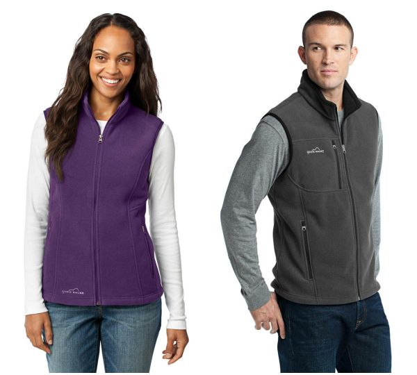 Eddie Bauer Fleece Vest for Fall from NYFifth