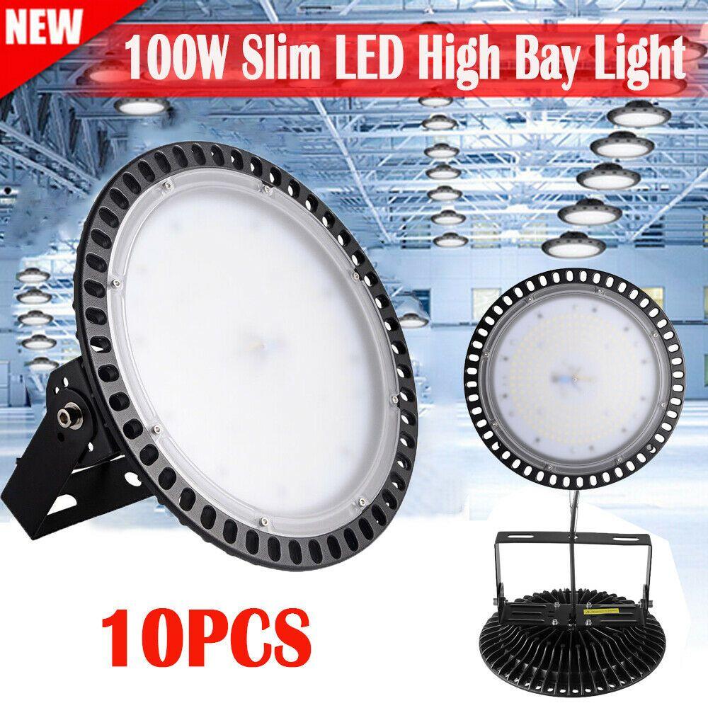 Sponsored Ebay 10x 100w Watt Led High Bay Light Factory Warehouse Work Lamp Commercial Lighting With Images Bay Lights High Bay Lighting Commercial Lighting