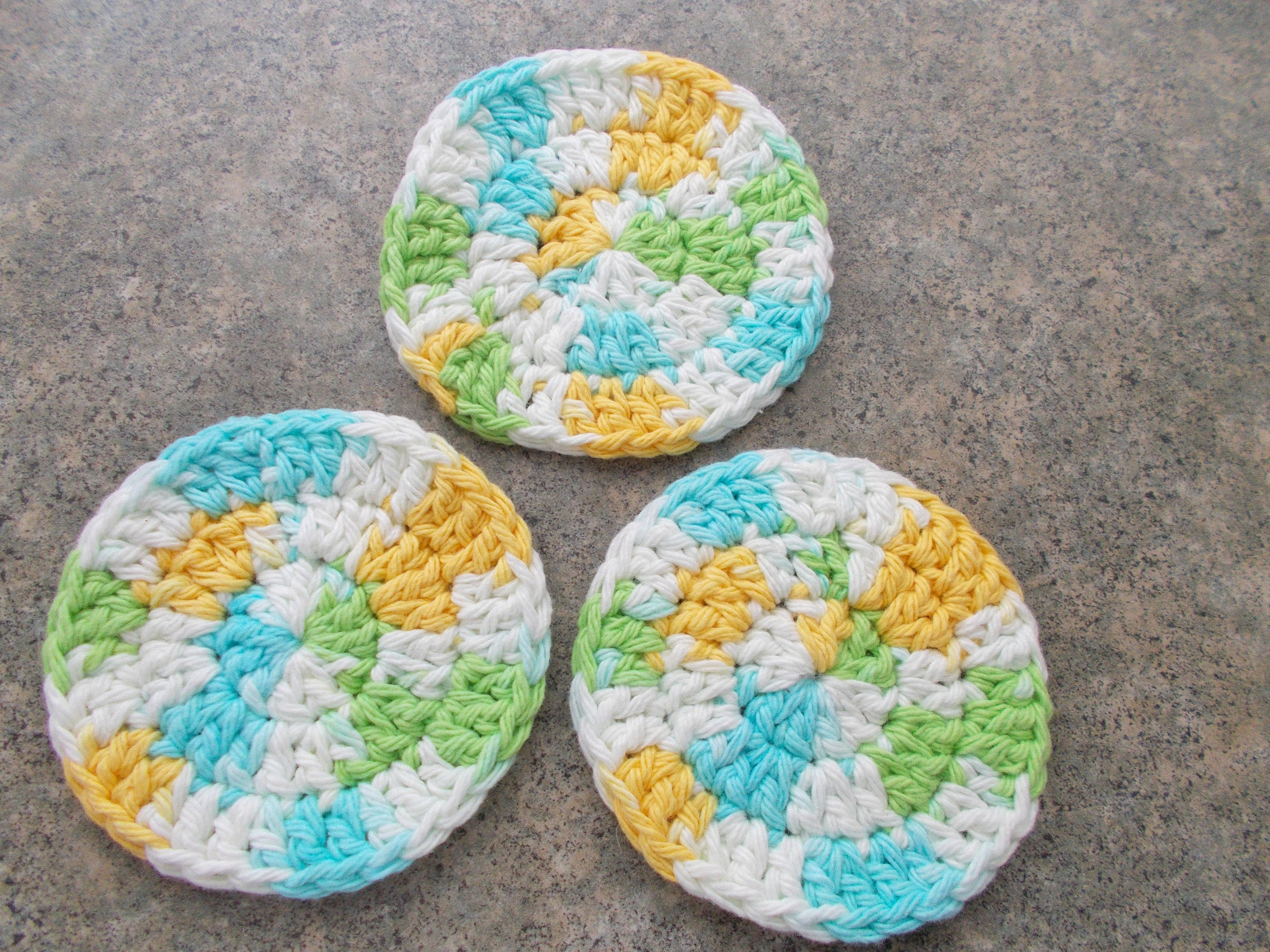 Makeup Remover Pads, 100 Cotton Facial Scrubbies in 2020