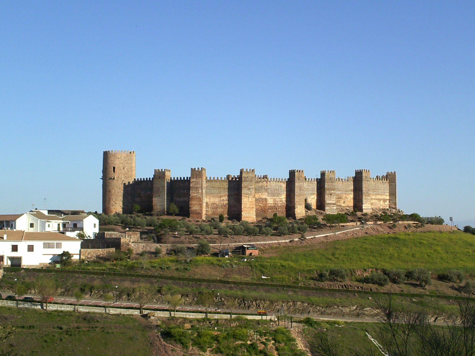 Yacimientos En Al Andalus Castillo De Burgalimar Banos De La