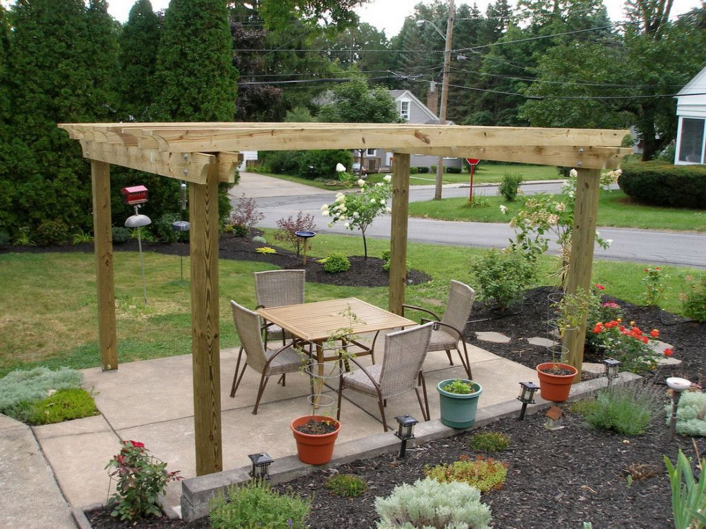 Exterior, A New Look Of Pergola Design.
