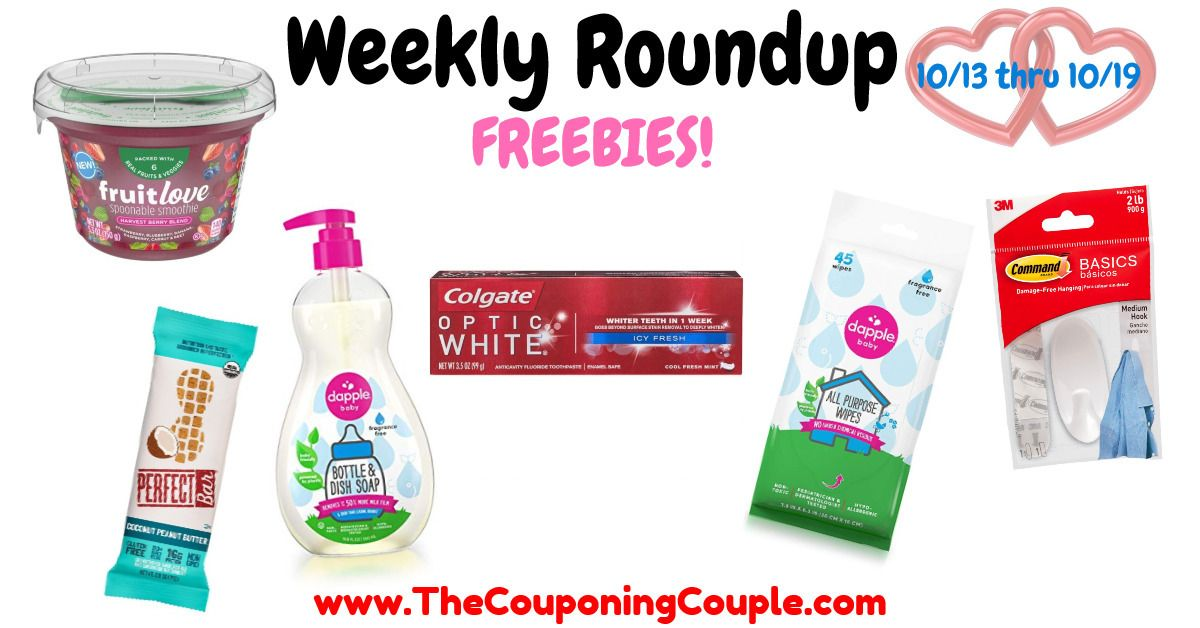 Freebie Deals Roundup For The Week Of 10 13 To 10 19 19 Colgate Toothpaste Baby Bottles Covergirl Mascara