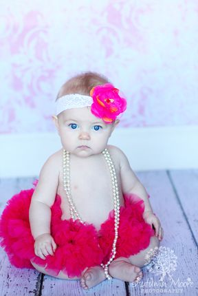 photographybaby in tutu and pearls Do you wanna take