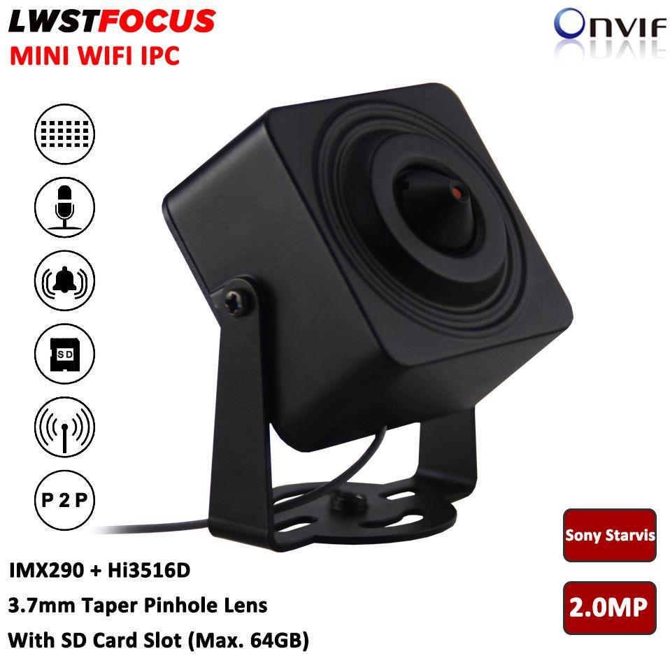 Sony Starvis 2MP Mini IP Camera Taper 3 7mm Lens 1080P Wifi