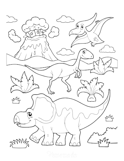 128 Best Dinosaur Coloring Pages Free Printables For Kids Dinosaur  Coloring Pages, Disney Coloring Pages Printables, Unicorn Coloring Pages
