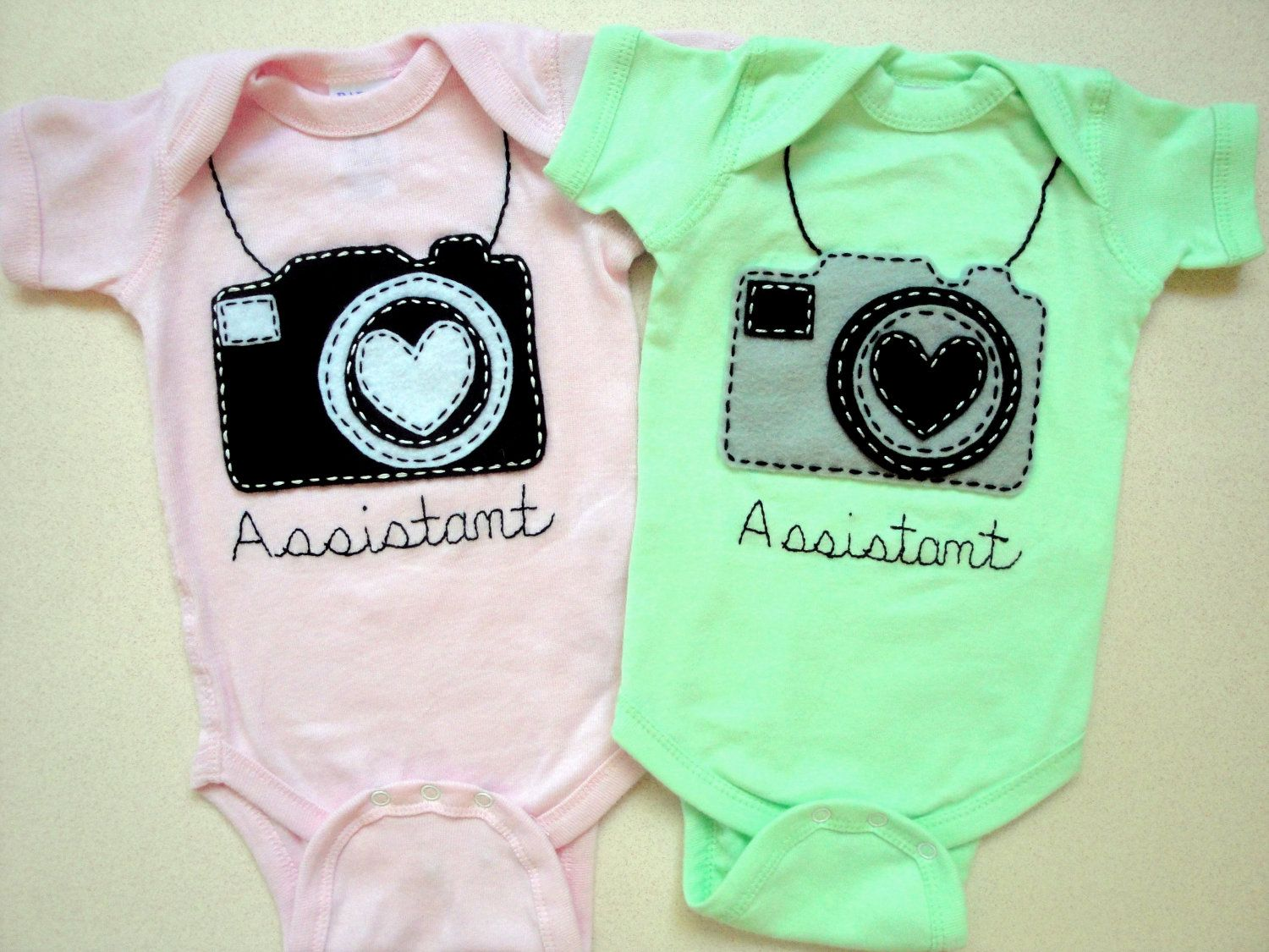 newborn photography outfit Assistant Photographer One Piece Baby creeper Photographer baby