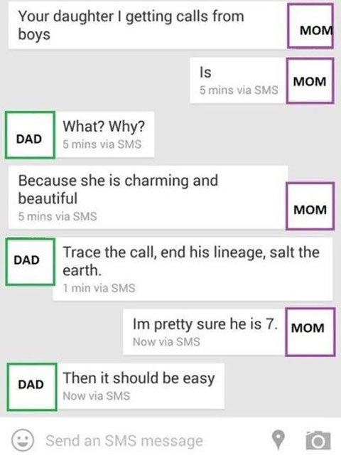 Overprotective dad, Game of Thrones style…   For dad   Funny, Tumblr
