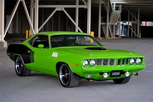 '71 Plymouth Hemi Cuda,