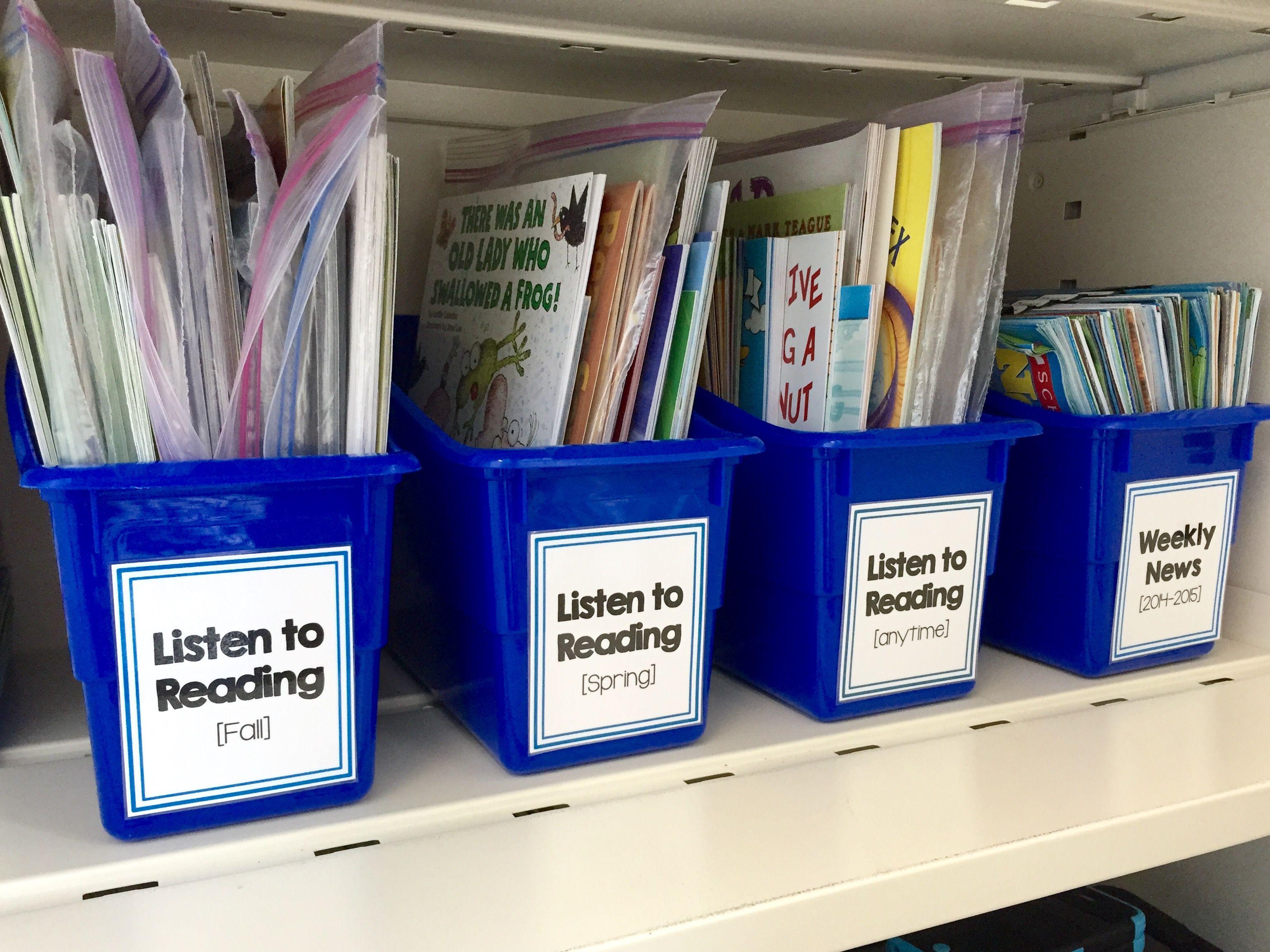 Listening Center Ideas For 1st Grade Daily 5 Literacy Pinterest