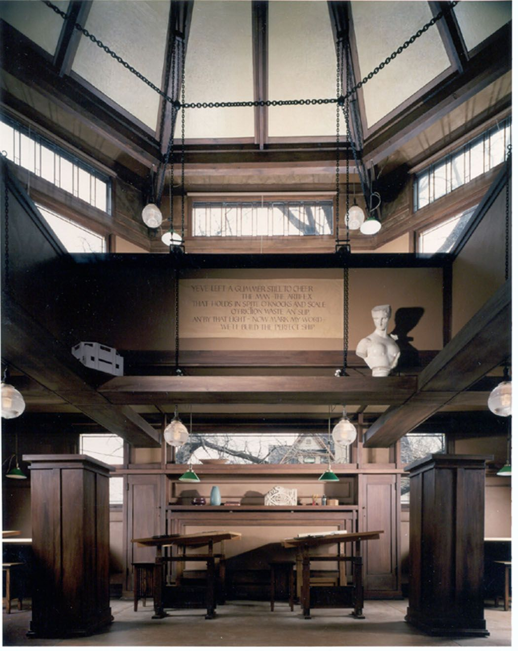 Prairieschoolarchitecture 50 Essential Frank Lloyd Wright Buildings Home And Studio Oak Park Illinois 1889