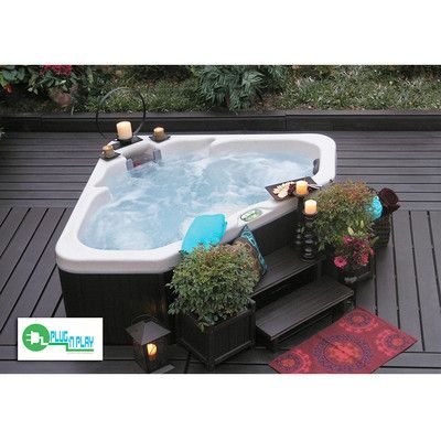 Geo Spas 2 Person Plug And Play Spa With 21 Jets | Wayfair