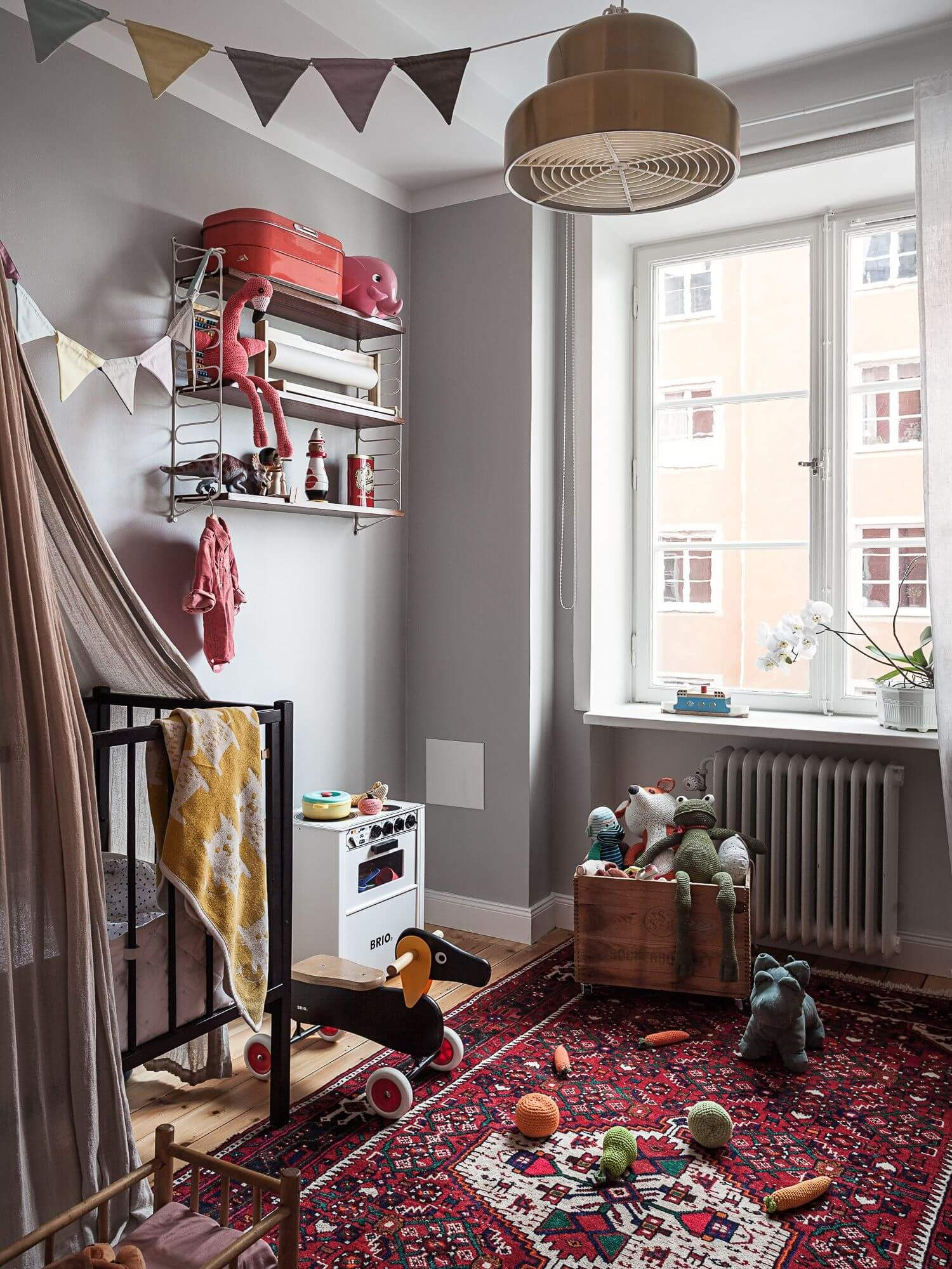 Small Nursery With Big Style