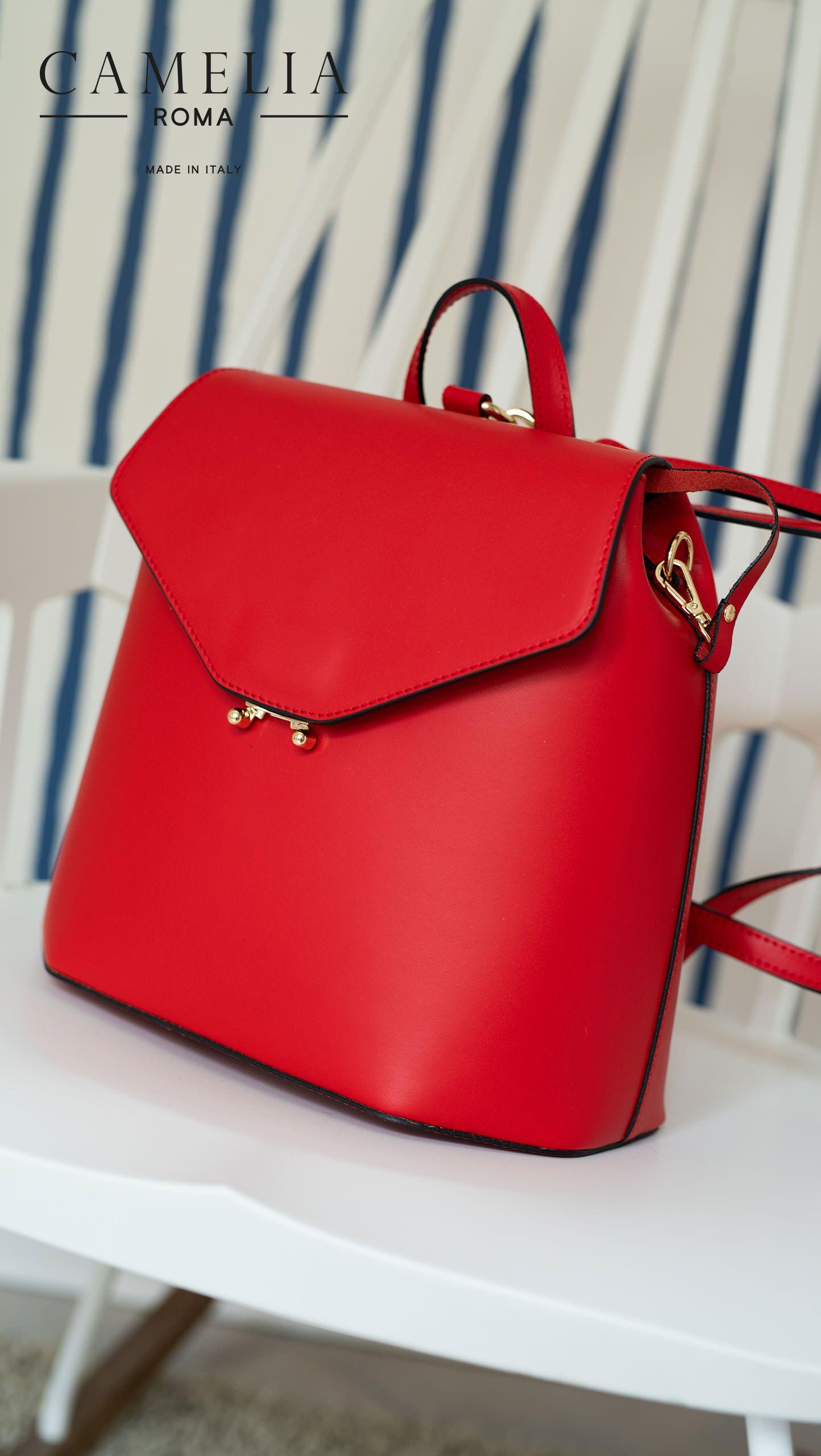 506cb807b9fcc Leather handbag - Camelia Roma