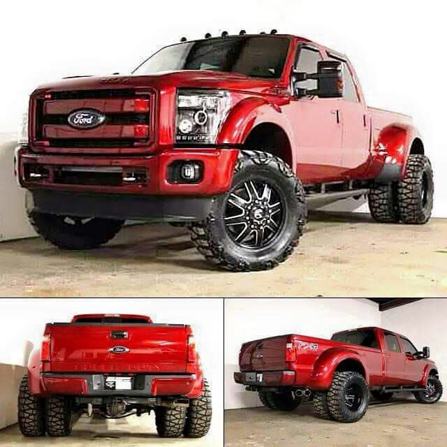 F350, I Know Its A Ford But Love The Color #Wheel #Tire