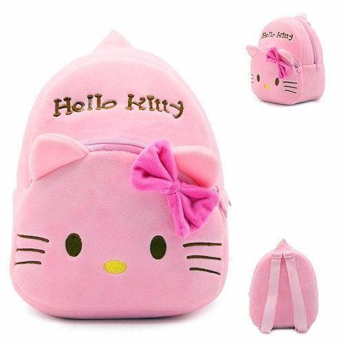 71445e07c New Women Girl Hello kitty Bags Black Backpack bag Purse Schoolintothe –  intothea