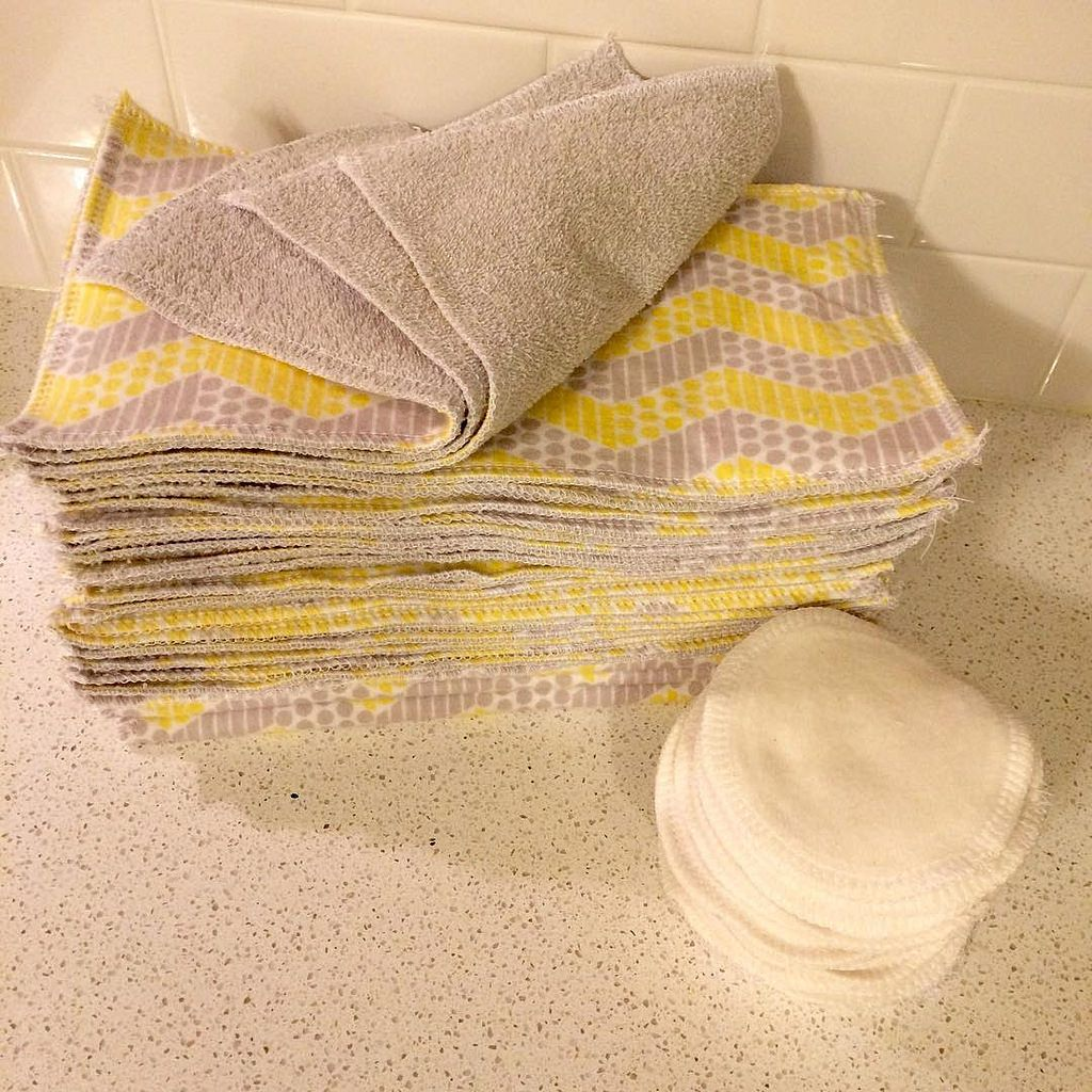 Reusable paper towels and cotton rounds is part of Reusable paper towels - reusablehouseholditem