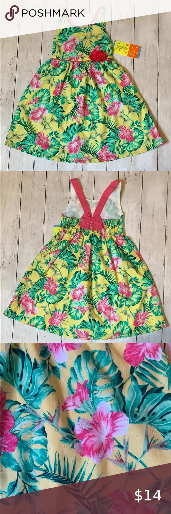 Penelope Mack Girls Dress 4t Girls Dresses Toddler Dress 2t Dress [ 1740 x 580 Pixel ]