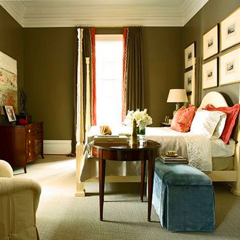Bedroom By Robert Brown Walls Are Mouse S Back From