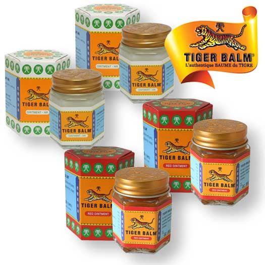Pack Baume du Tigre rouge et blanc 30g Tiger Balm Tiger balm