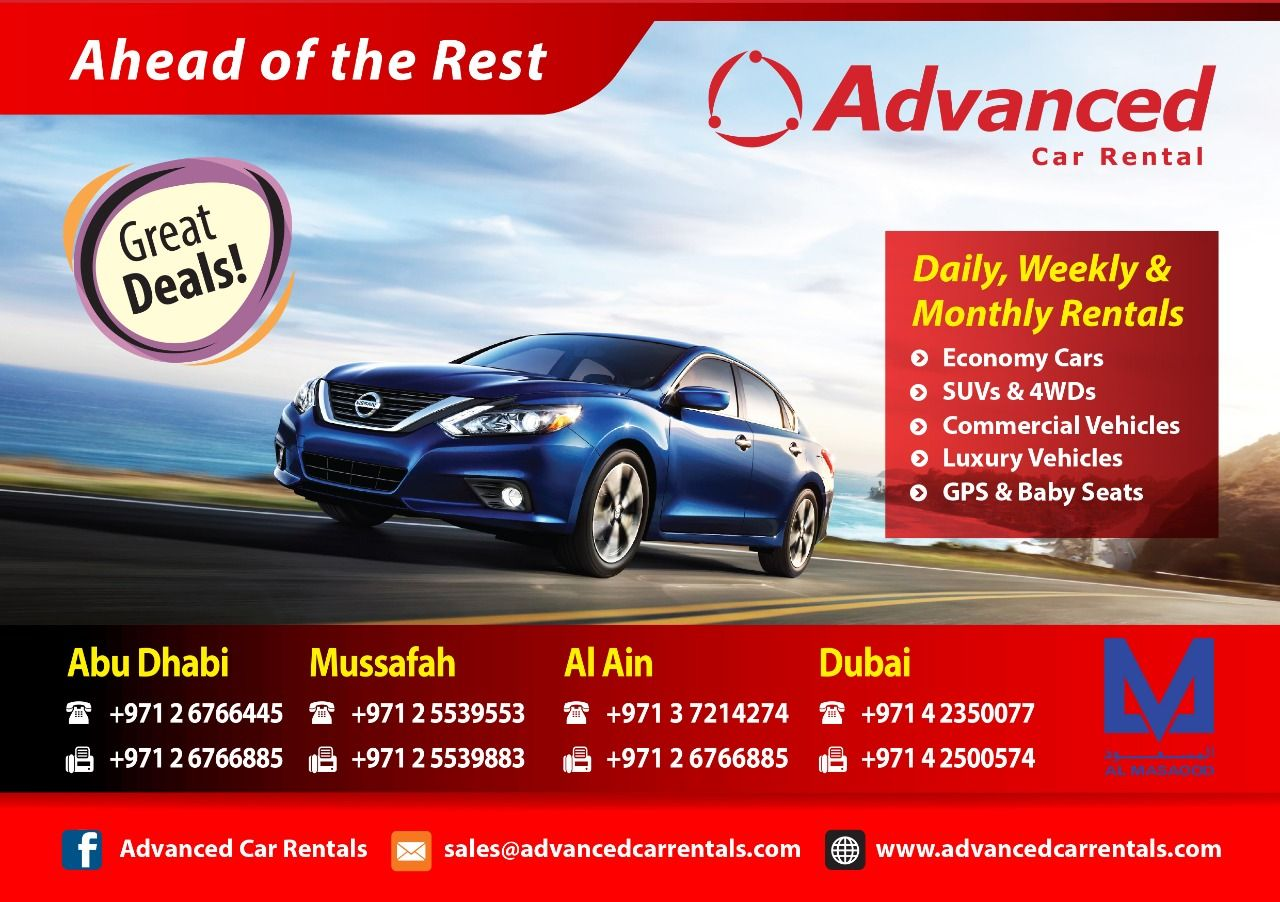 Car Rentals Abu Dhabi. Find Cheap Car Rentals In UAE. We