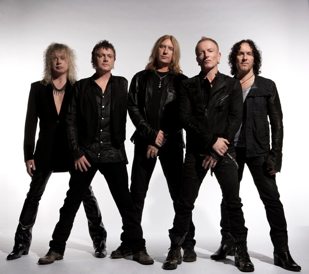 Rock Bands: Def Leppard Is An English Rock Band Formed In 1977 In