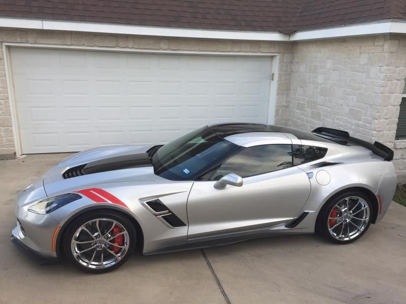 2017 Corvette Coupe for sale Texas 2017 Corvette GS Z07