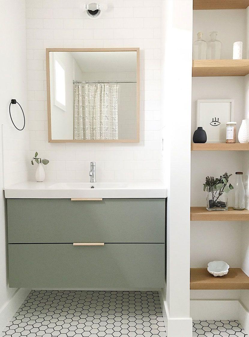 Kid and Guest Bathroom Design. A Scandinavian Farmhouse style ...