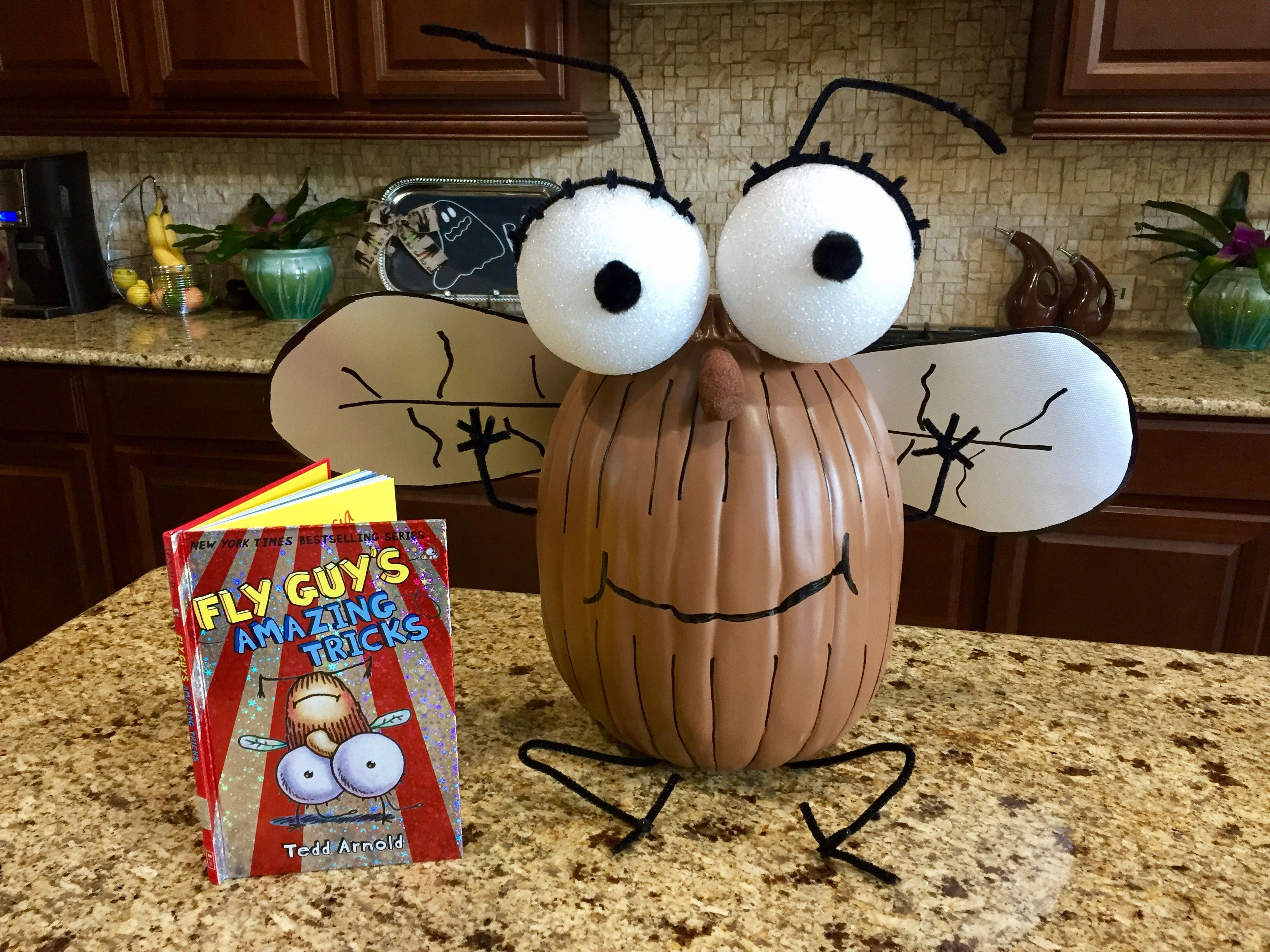 Fly Guy Pumpkin Book Character