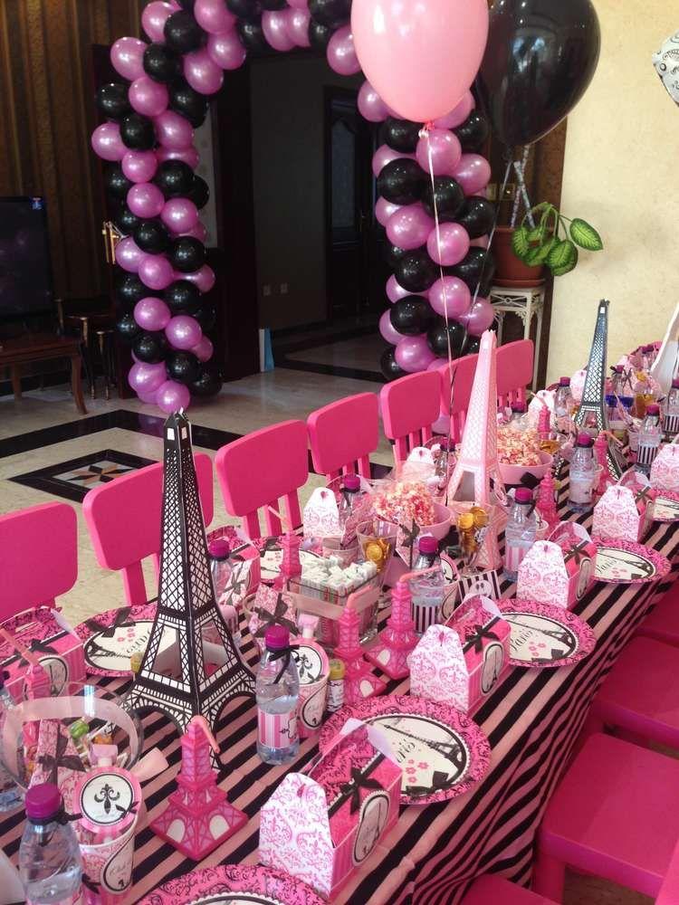 Paris Birthday Party Ideas Photo 3 of 20 Catch My