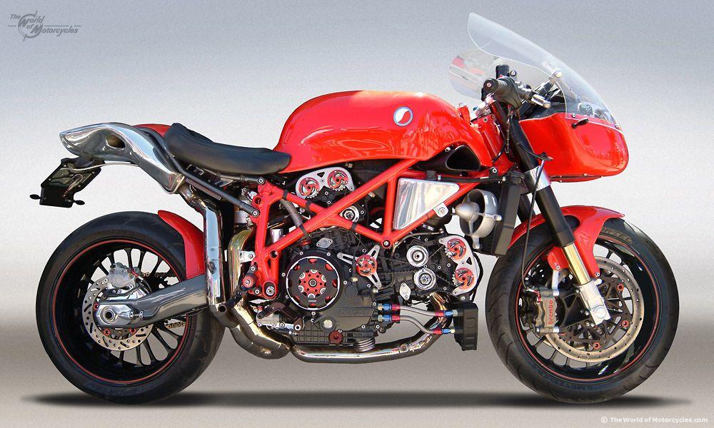 Superieur Naked U0027Cafe9u0027 Ducati 999 Testastretta Custom Sportbike By Steffano Motors