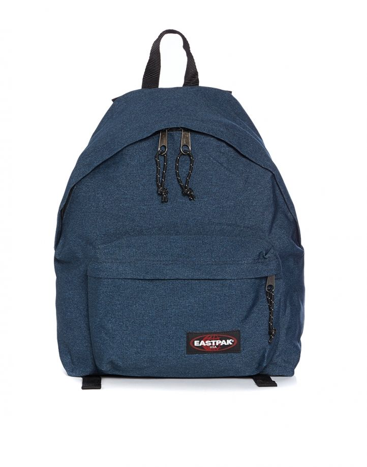 Get the Eastpack padded Pak'r backpack with padded shoulder straps, zip  around fastening and grab strap now available at THE IDLE MAN
