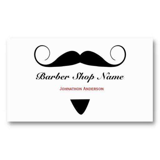 Trendy mustache barber shop hair stylist for men business card trendy mustache barber shop hair stylist for men business card colourmoves