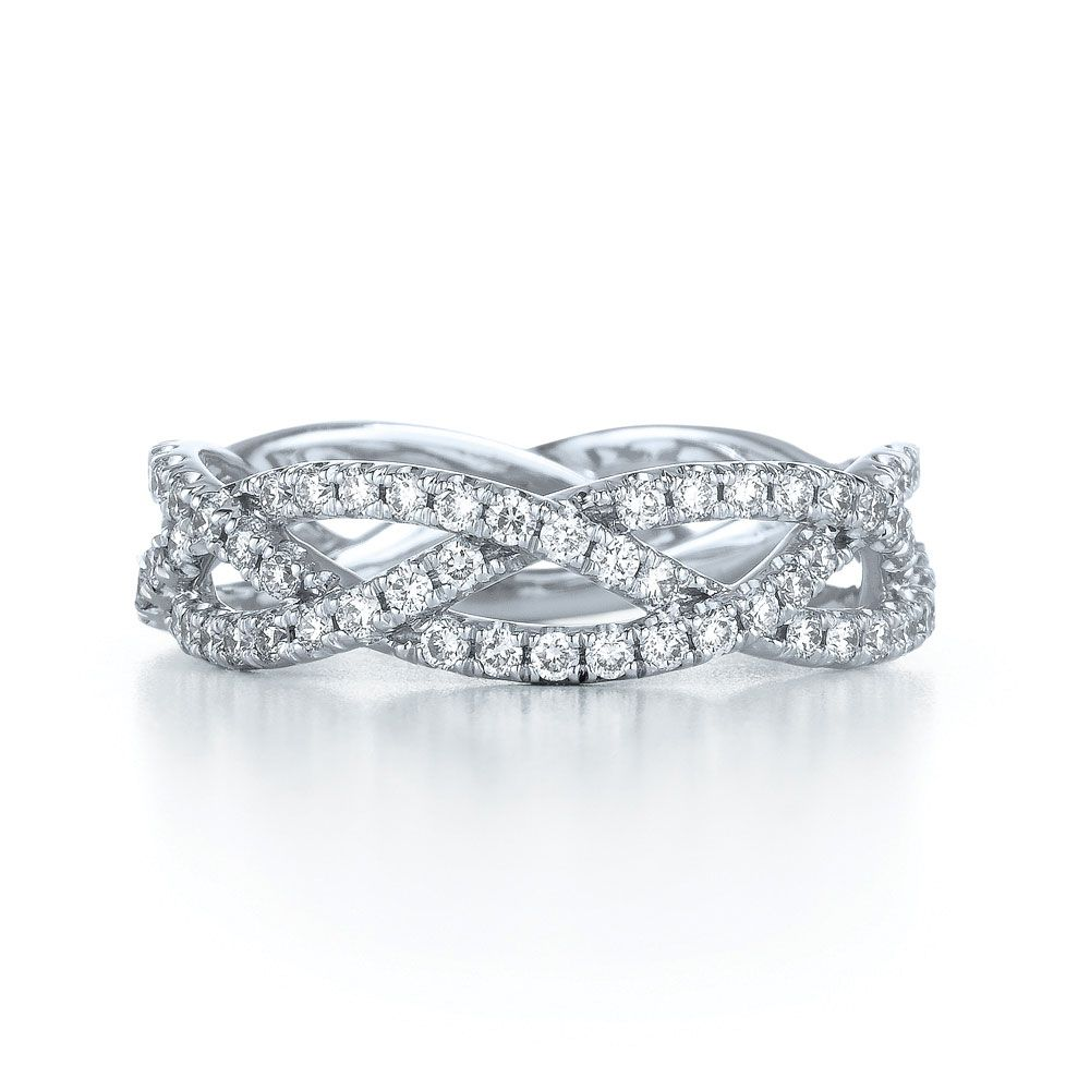 Diamond Wedding Bands A Cord Of Three Strands Is Not Easily Broken Ecclesiastes 4 12