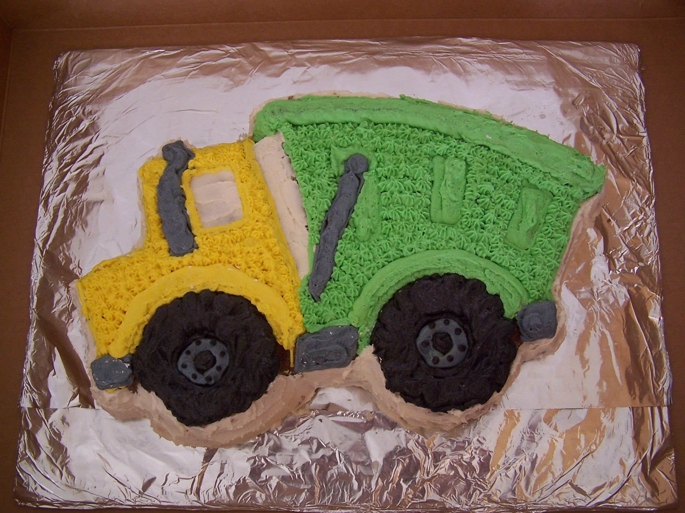 Trash Or Garbage Truck Party Cake Wilton Dump Pan My Parties And Gifts Cakes