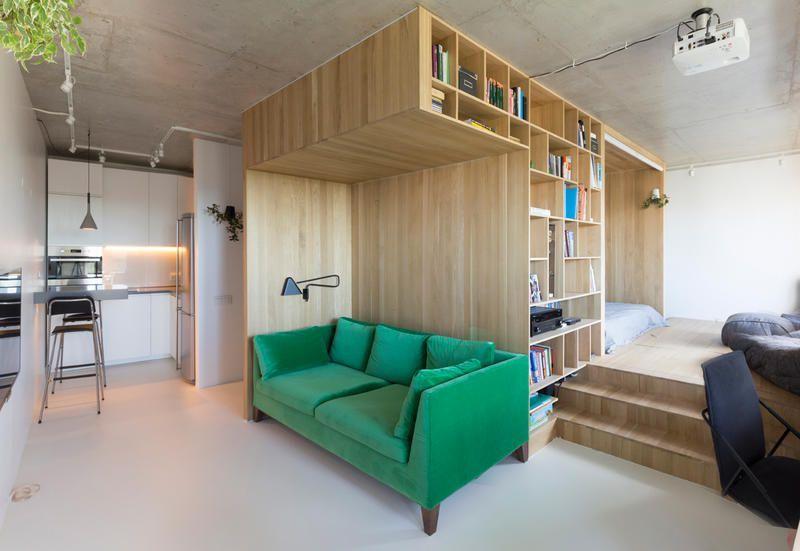 Idee salvaspazio e mobili polifunzionali per un mini appartamento