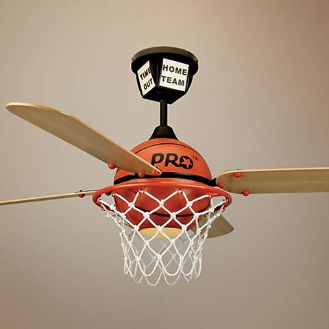 basketball chandelier without with white lights fans bedroom light fan ceiling in ceilings