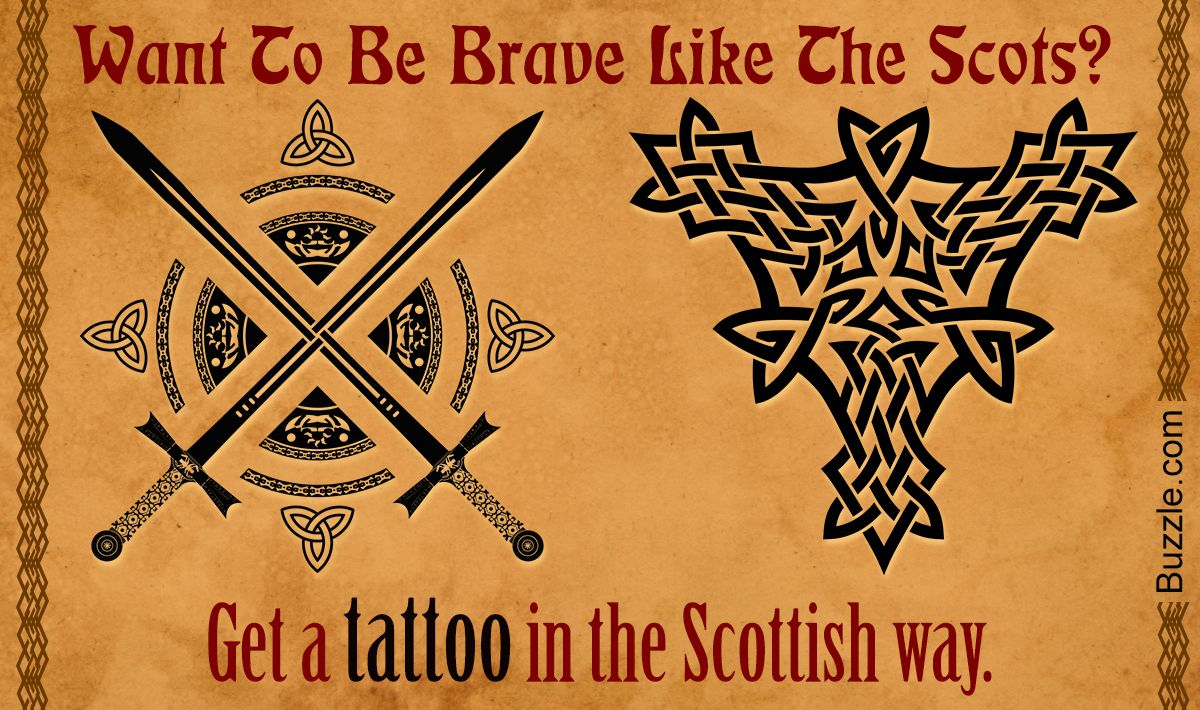 Scottish tattoo designs celtic knot pinterest for Sean connery tattoos