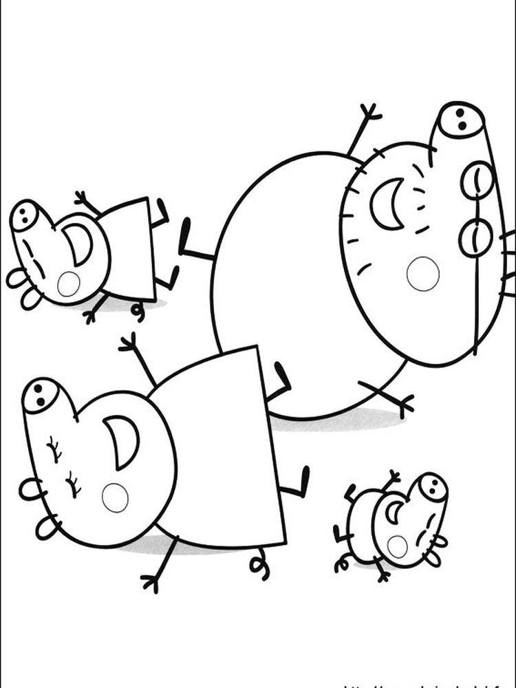 Peppa Pig Easter En 2020 Dibujo De Peppa Pig Peppa Pig Para