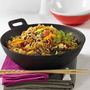 Photo of Asian fried noodles from the wok recipe DELICIOUS