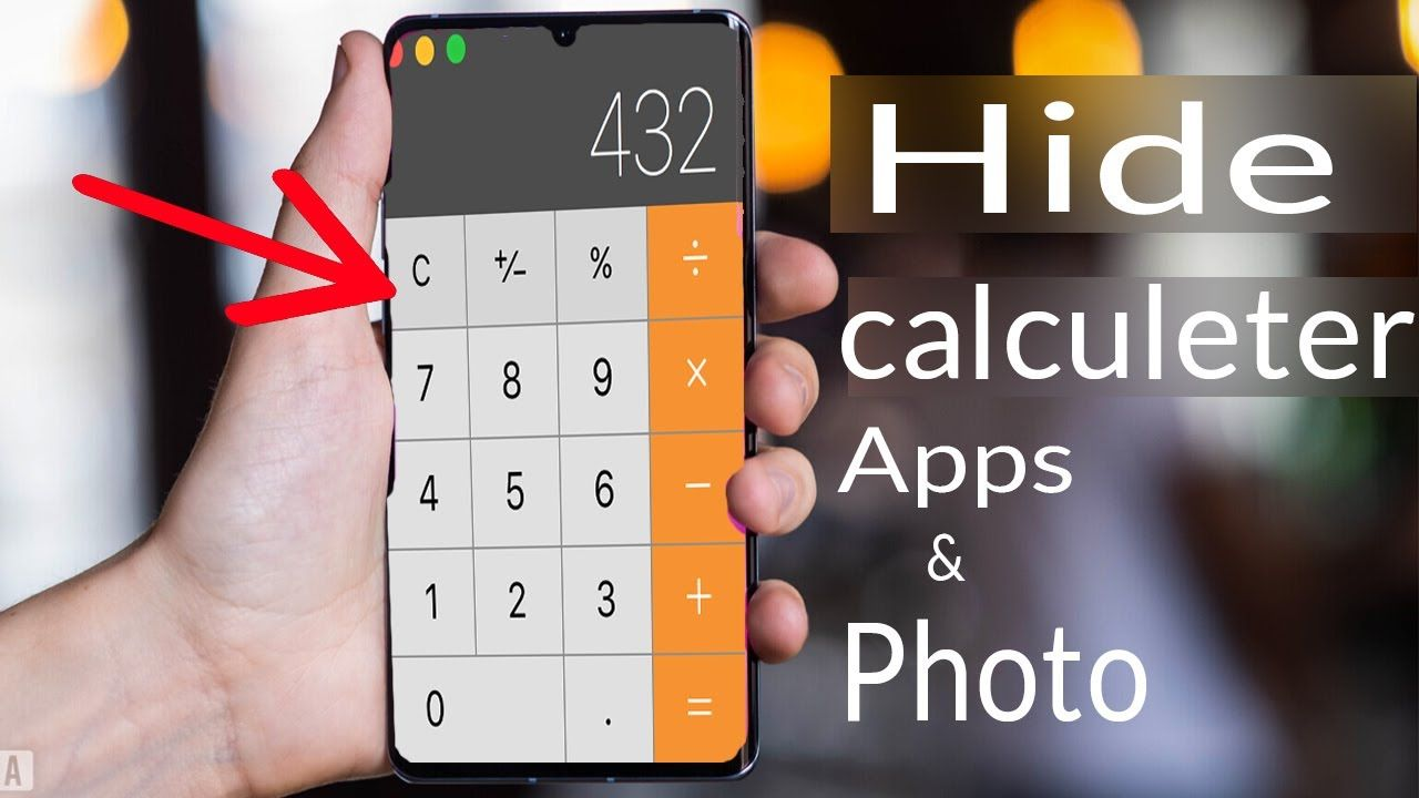 How To Hide Apps And Videos Secret Calculator Hide App Pro Android Tricks In 2020 Hide Apps Android Hacks App