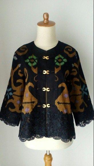 Model Baju Batik Wanita Gemuk Untuk Kerja Desain Blus Baju Atasan Wanita Model Pakaian